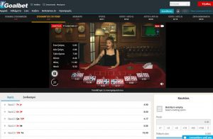 goalbet live casino poker