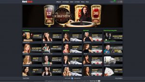 netbet live casino lobby