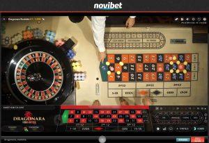 novibet live casino dragonara roulette