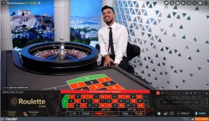vistabet live casino greek roulette